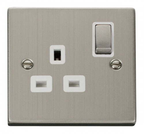 Buy VPSS Stainless Steel Click Power Socket Outlets | PEC Lights