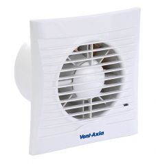 Vent Axia Silhouette 100B Square Extractor Fan Standard