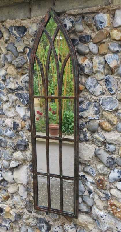 Narrow Gothic Arch Mirror