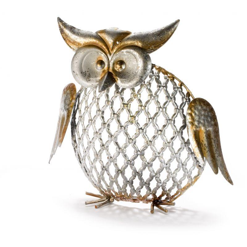Ornate Metal Owl