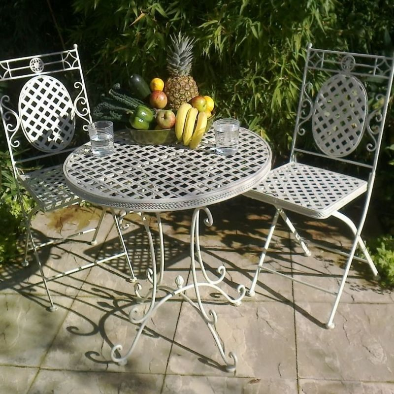"""Cafe Range"" Patio Table and 2 Chairs"