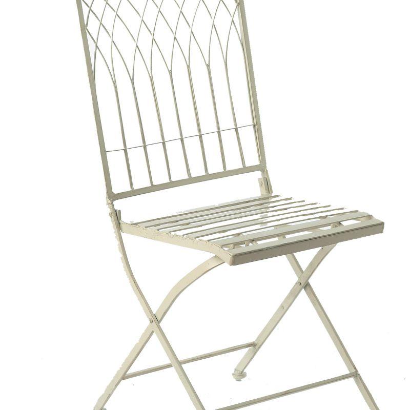 Hampton Foldable Chair - Cream
