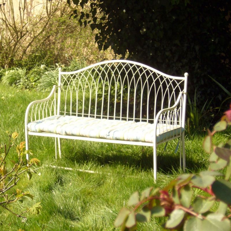 Kings Garden Bench - Cream