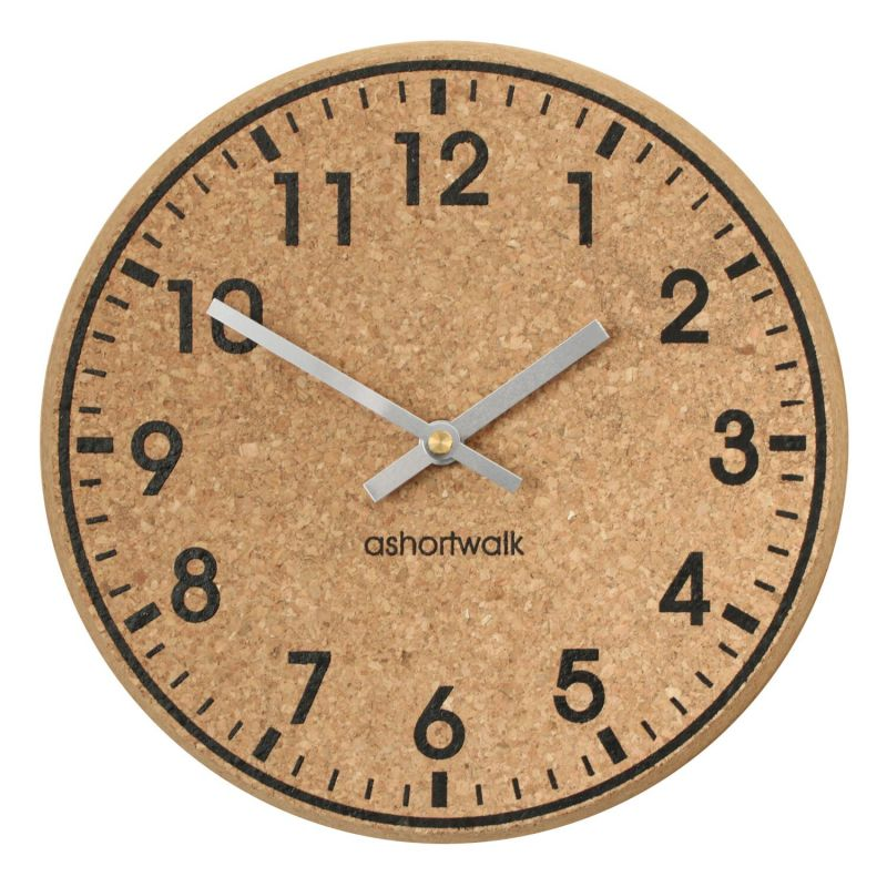 Eco Recycled Chunky Cork Clock