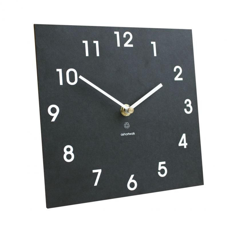 Eco Recycled Classic Clock