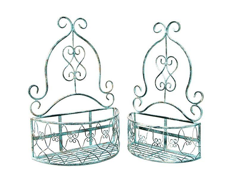 Set 2 Wall Basket Large