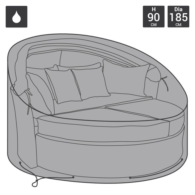 Premium Rattan Day Bed Cover