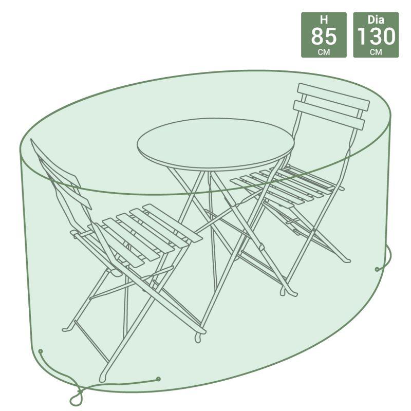 Garden Tarpaulin Waterproof Bistro Furniture Set Cover