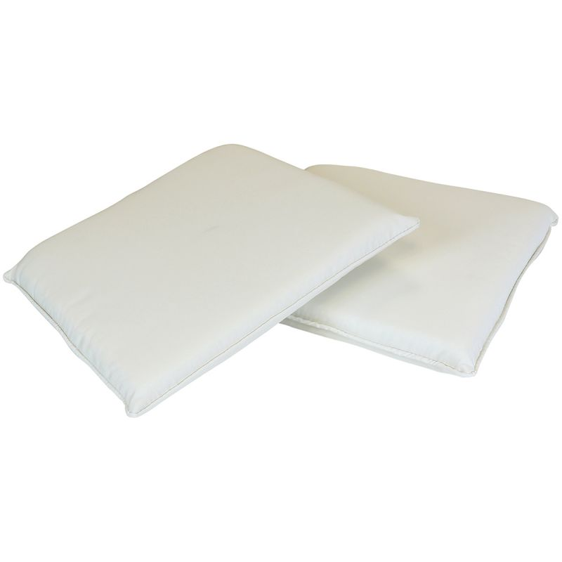 Garden Pair of Chair Seat Cushions - Available in Various Colours