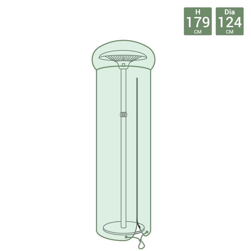Green Patio Heater Waterproof Tarpaulin Cover