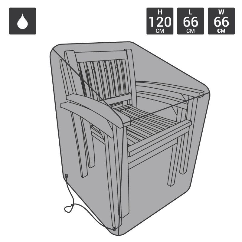 Garden Premium Stackable Chair Covers