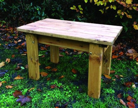 One Seater Solid Form Bench