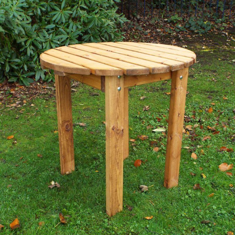Circular BBQ Table