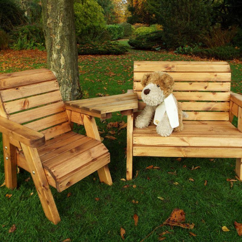 Little Fellas Bench/Chair Combination Set