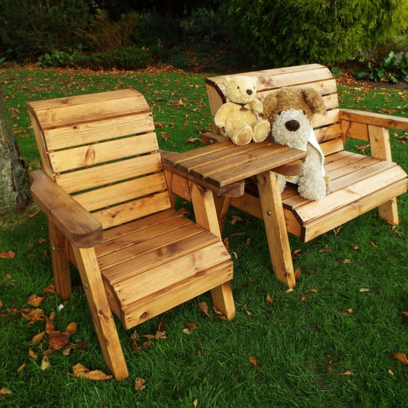 Little Fellas Bench/Chair Combination Set with Tray