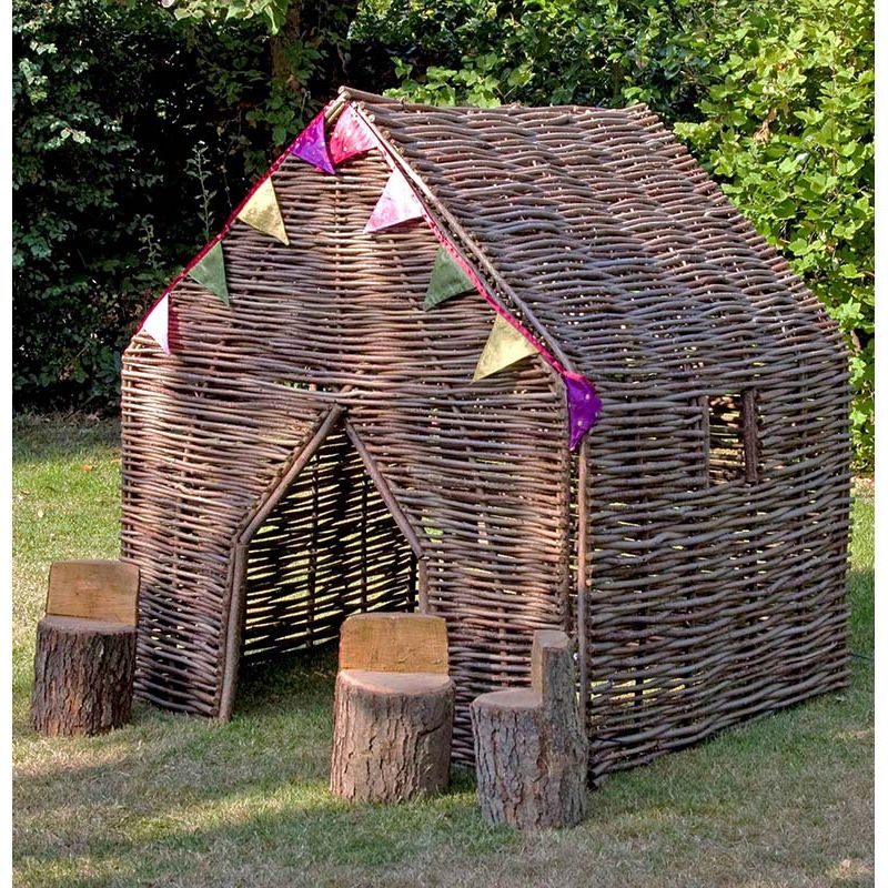 Children's Playhouse - Hazel with Bunting