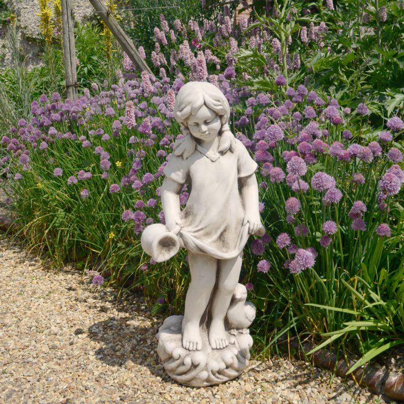 Michelle Statue - Antique Stone Effect