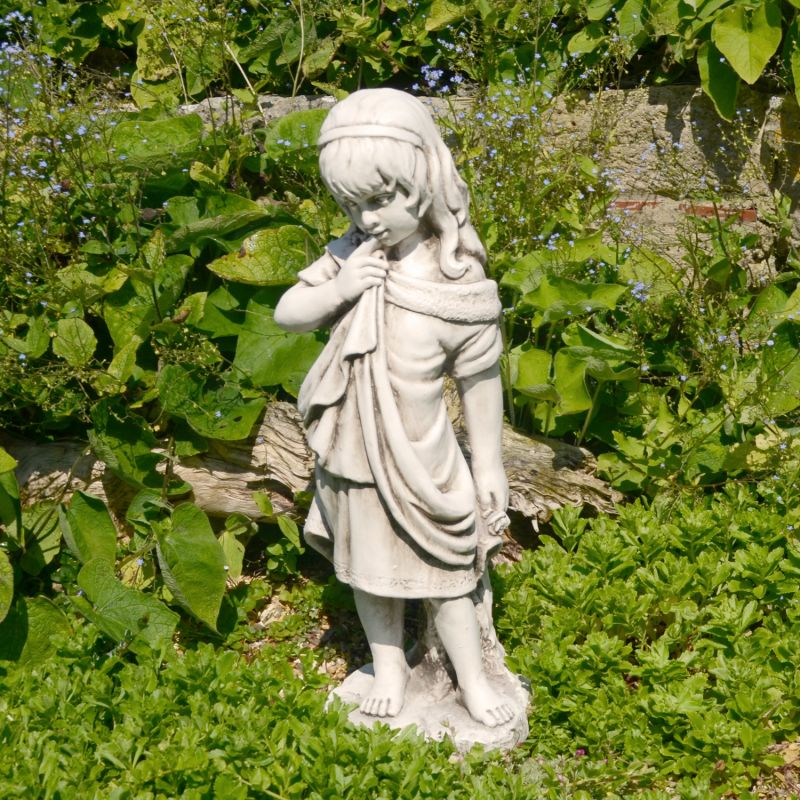 Lucy Statue - Antique Stone Effect