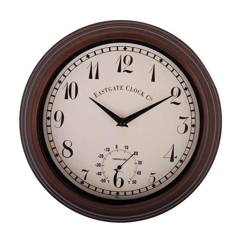 Wall Clock and Thermometer