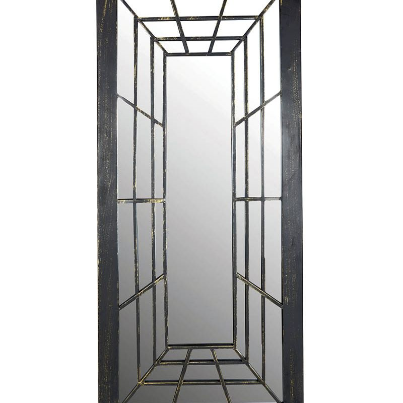 Rectangle Outdoor Mirror Trompe L'oeil