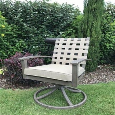 Encore Swivel Rocking Dining Chair