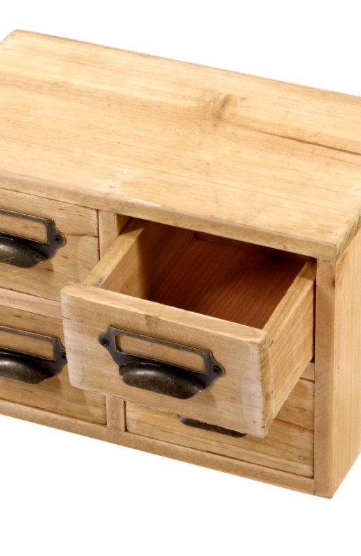 Storage Drawers (4 Drawers) 25 x 15 x 16cm