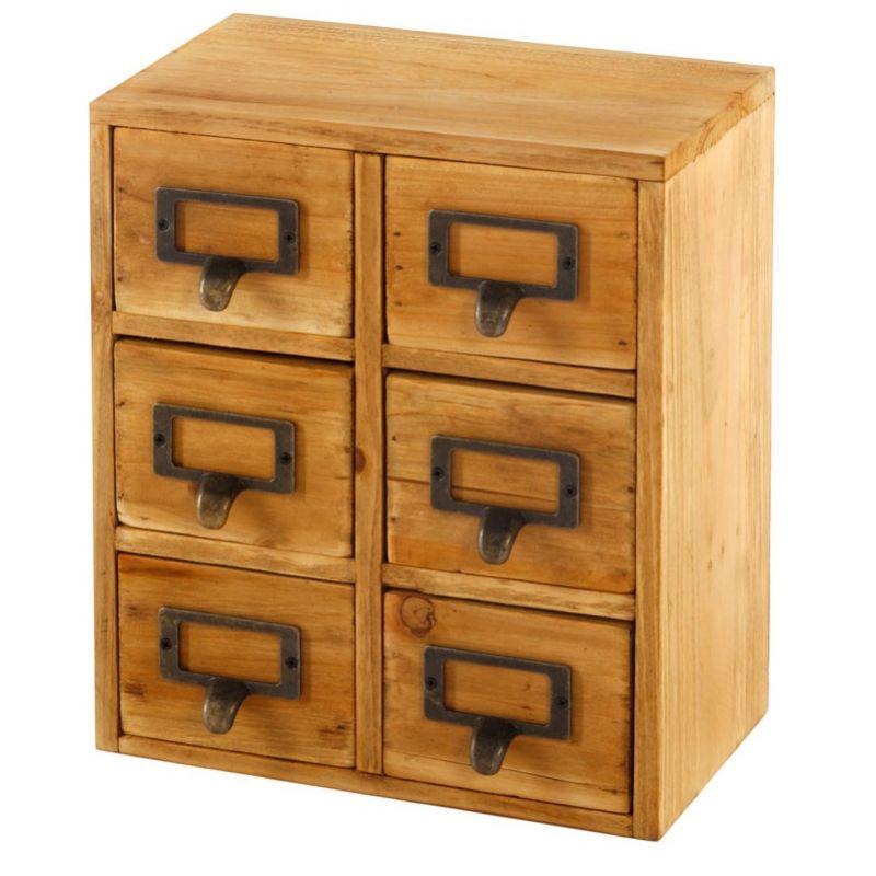 Storage Drawers (6 drawers)