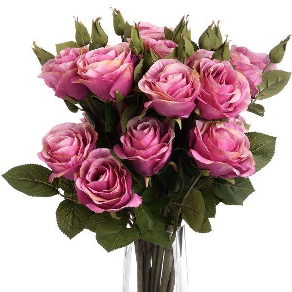 Light Pink Two Way Rose