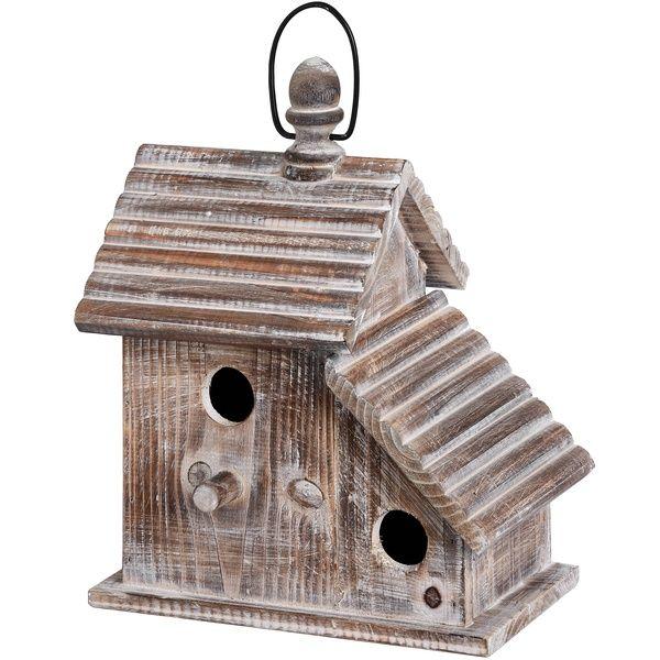 Rustic Hanging Bird House
