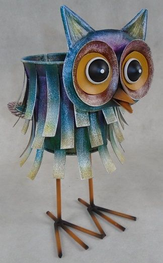 Animal Plant Pot (Owl)