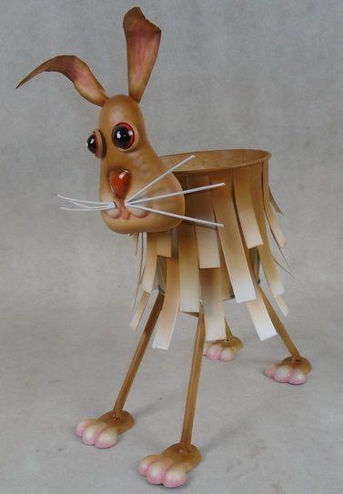 Animal Plant Pots (Rabbit)