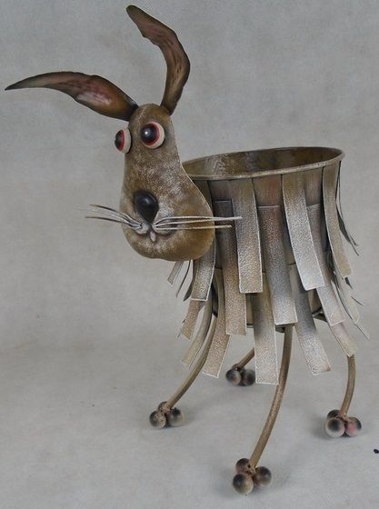 Animal Plant Pots (Hare)