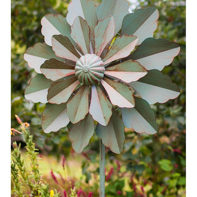 """Versailles"" Wind Sculpture (Verdigris)"