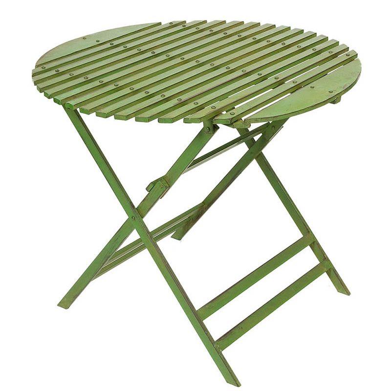 """Wimbledon"" Round Table (Green)"