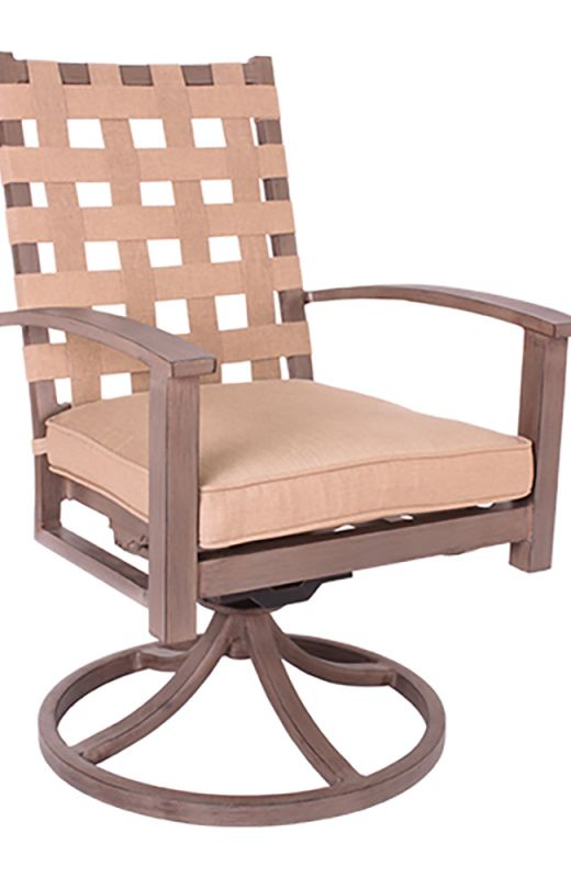 Encore Swivel Rocking Dining Chair
