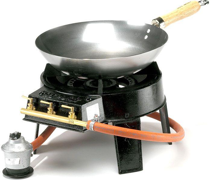 Original Wok Set with regulator / hose