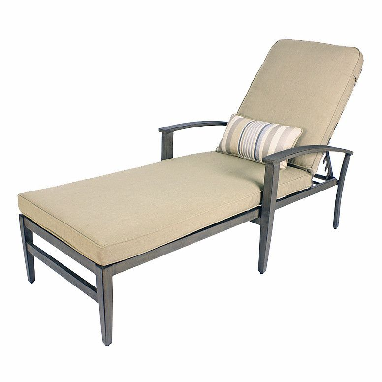 Encore Chaise Lounge and Lumber Pillow