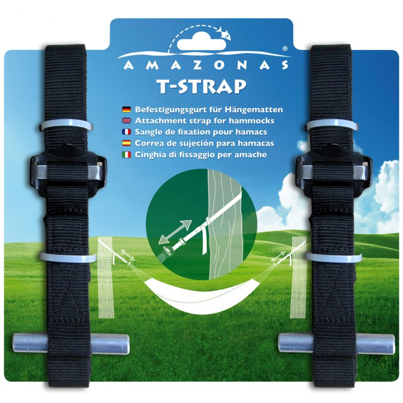 T-Strap Hammock Fixing