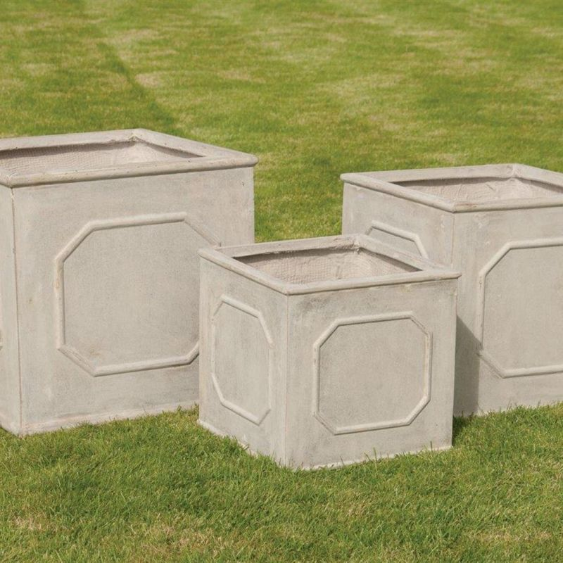 The Bridgeford Square Pot - Set of 3