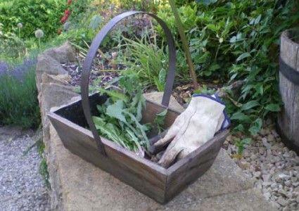 Metal Garden Trugs/Baskets