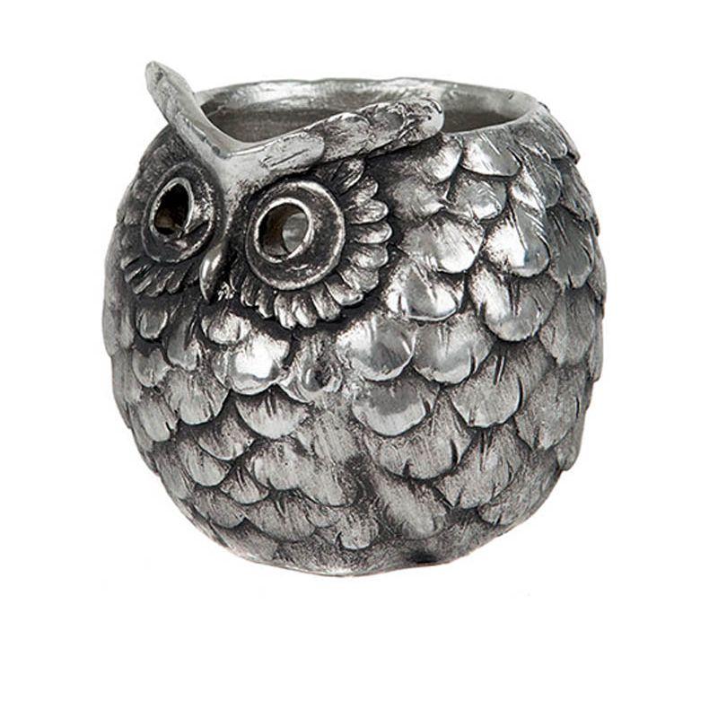 Owl Tea-Light Holder