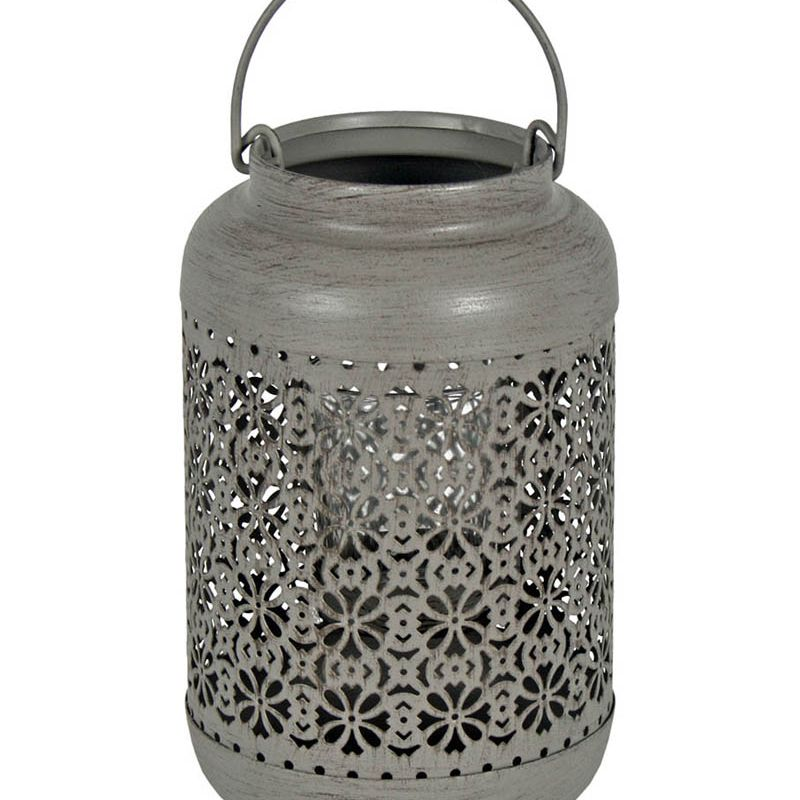Patterned T-Light Lantern