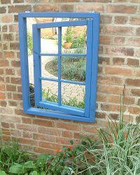 Ajar Window Mirror