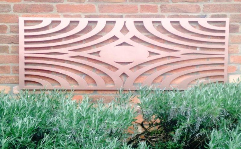 Decorative Metal Screen (Aztec Design)
