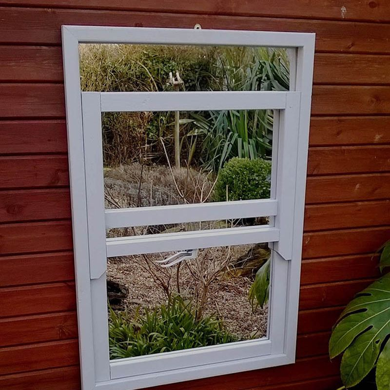 Illusion Sash Window Mirror
