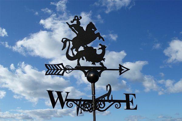 St George & Dragon Weathervane