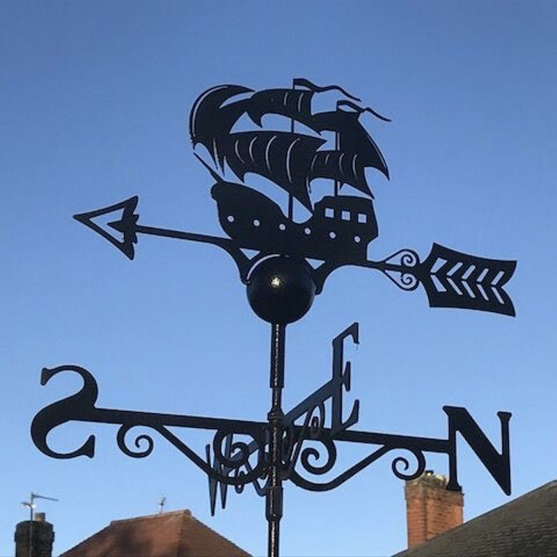 Galleon Weathervane