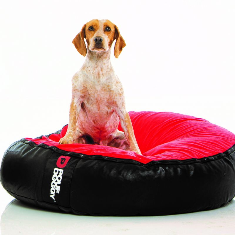 Pouf Doggy Red