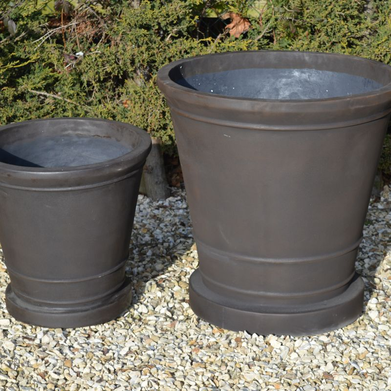 Set of 2 French Vase Planters