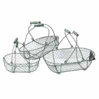 Metal Garden Trugs/Baskets